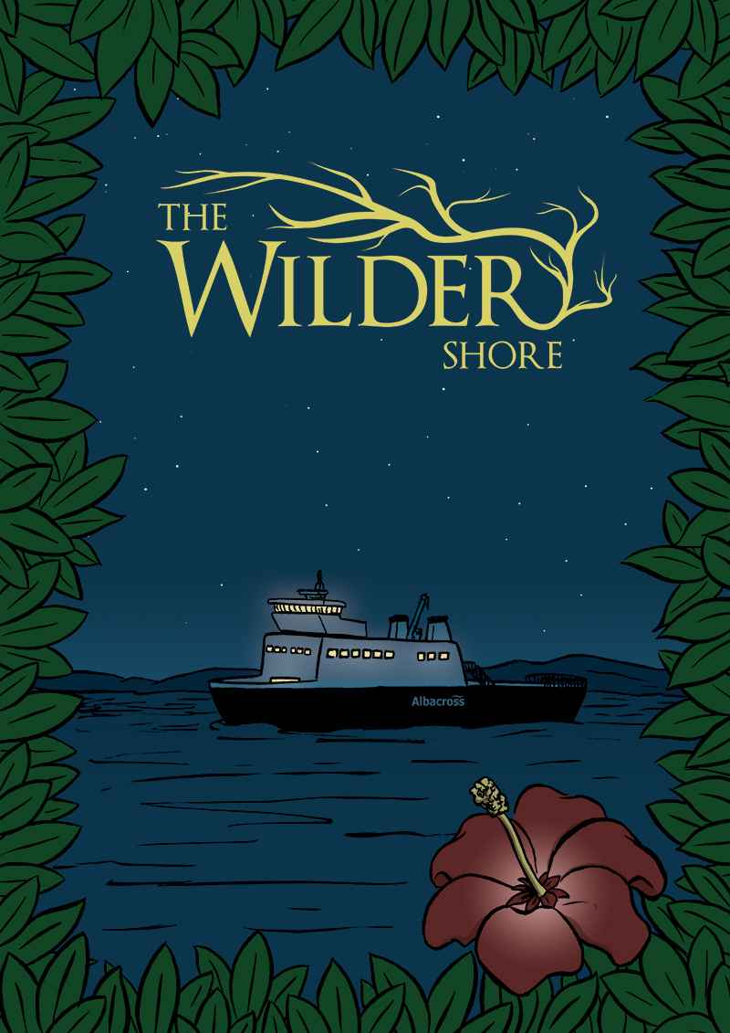 The Wilder Shore - Title Page